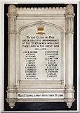 TL1589 : St Mary, Stilton - War Memorial by John Salmon