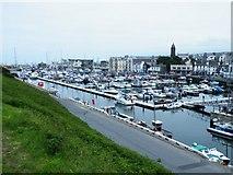 SC2484 : Peel Harbour by Derek Tootill
