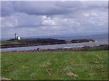 NT4999 : Lighthouse at Elie Ness by Alan Sillitoe