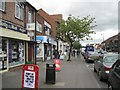 SP1094 : Shops, west side of Boldmere Road by Robin Stott
