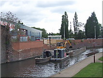 SO8276 : The Staffordshire and Worcestershire Canal, Kidderminster by Chris Whippet