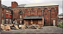 J3373 : Former Ulster Brewery, Belfast by Albert Bridge