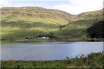NC3435 : Both shores of southeastern Loch More by Stuart Logan