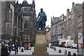 NT2573 : Statue of Adam Smith, The Royal Mile by N Chadwick