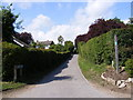 TM2863 : Love Lane footpath to Vyces Road by Adrian Cable