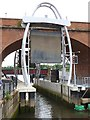 NZ2664 : Lock at the mouth of the Ouseburn by Oliver Dixon