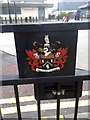 SD9205 : Coat of Arms of Oldham Metropolitan Borough Council by Steven Haslington