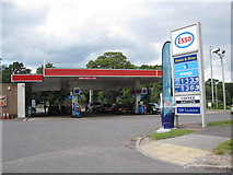 SK3336 : Petrol Station at the Markeaton Roundabout by Alan Heardman