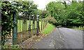 J3368 : Old gate, Ballylesson, Belfast by Albert Bridge
