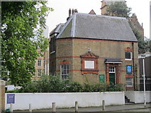 TQ3282 : Bunhill Fields Meeting House (Society of Friends), off Banner Street, EC1 by Mike Quinn