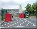 ST0291 : Recycling area, Morrisons, Porth by Jaggery