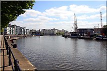 ST5772 : The Floating Harbour by the SS Great Britain by Steve Daniels