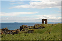 NT4999 : Lady's Tower, Elie by Jim Barton