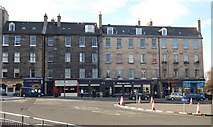 NT2674 : Shops and tenements, Leith Walk by N Chadwick