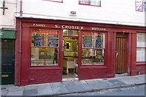 TA1767 : Crosier's Butcher Shop, High Street, Bridlington by Michael W Beales BEM