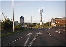 SD6409 : Spirit of Sport sculpture on the A6021 by Peter Bond