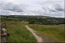 SD7013 : The path at Horrocks Fold by Ian Greig