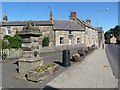 NU1301 : Coronation drinking fountain, Longframlington by Oliver Dixon