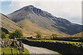NY1908 : Great Gable from near Burnthwaite by Nigel Brown