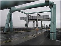 ST1972 : Bascule bridge in Cardiff bay barrage by Rudi Winter