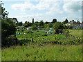 TQ4987 : Temple Allotments, Dagenham by Robin Webster