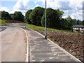 NS2071 : New road and roundabout by Thomas Nugent