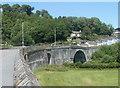 SN6221 : Single-span arch, Llandeilo Bridge by Jaggery