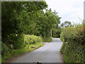 ST6876 : 2011 : Minor road to Coxgrove Hill by Maurice Pullin