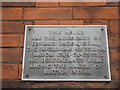 TR0161 : Plaque on Spice Lounge by David Anstiss