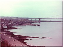 NT1378 : Queensferry in 1980 by Rob Newman