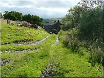 SE0125 : Brink Top from the east, Mytholmroyd by Humphrey Bolton