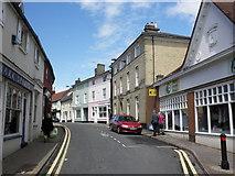 TM0458 : Bury Street, Stowmarket by Roger Cornfoot