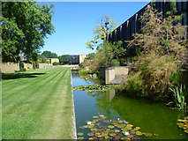 SP5206 : The grounds of St Catherine's College, Oxford by Marathon