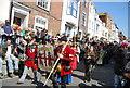 TQ8209 : Jack in the Green Festival 2011 - The Order of Rye Longbowmen by N Chadwick