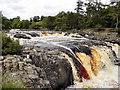 NY9027 : Low Force Waterfalls, River Tees by David Dixon