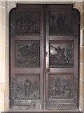 NN1073 : Main Entrance Door, St Andrews' Church by Josie Campbell