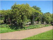 TQ2879 : Garden at Hyde Park by Oast House Archive
