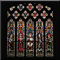 NZ1320 : St Mary's Church Stained Glass Window by David Dixon