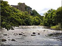 NZ0416 : River Tees and Barnard Castle by David Dixon