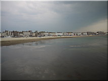 SY6879 : Thunder storm over Weymouth beach by sue hogben