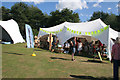 SK9205 : Craft marquees at Rutland Water by Kate Jewell