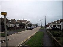 TQ4100 : Bolney Avenue, Peacehaven by PAUL FARMER