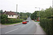TQ5130 : Crowborough Hill, B2100 by John Salmon