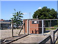 TM3863 : Electricity Sub-Station off New Cut by Adrian Cable