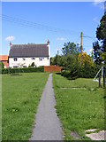 TM3864 : Footpath to Rosemary Lane by Adrian Cable