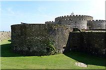 TR3752 : Deal Castle, Kent by Cameraman