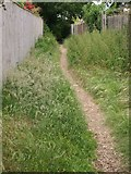 SZ1394 : Ginnel to Recreation Ground from River Way/Cross Way by Junette Robinson