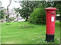 NS6161 : Pillar box on Limeside Avenue by Richard Webb