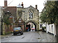 SU1429 : St Anns Gate, Salisbury by Josie Campbell