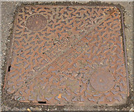 NM8529 : Manhole, Drain & Access Covers in Oban - (4) by The Carlisle Kid